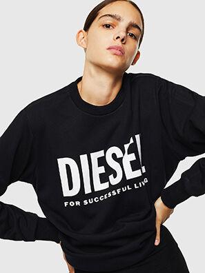 S-GIR-DIVISION-LOGO, Black - Sweaters