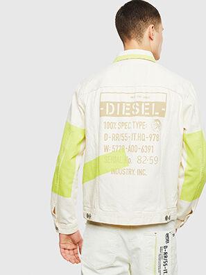 NHILL-SP, White - Denim Jackets
