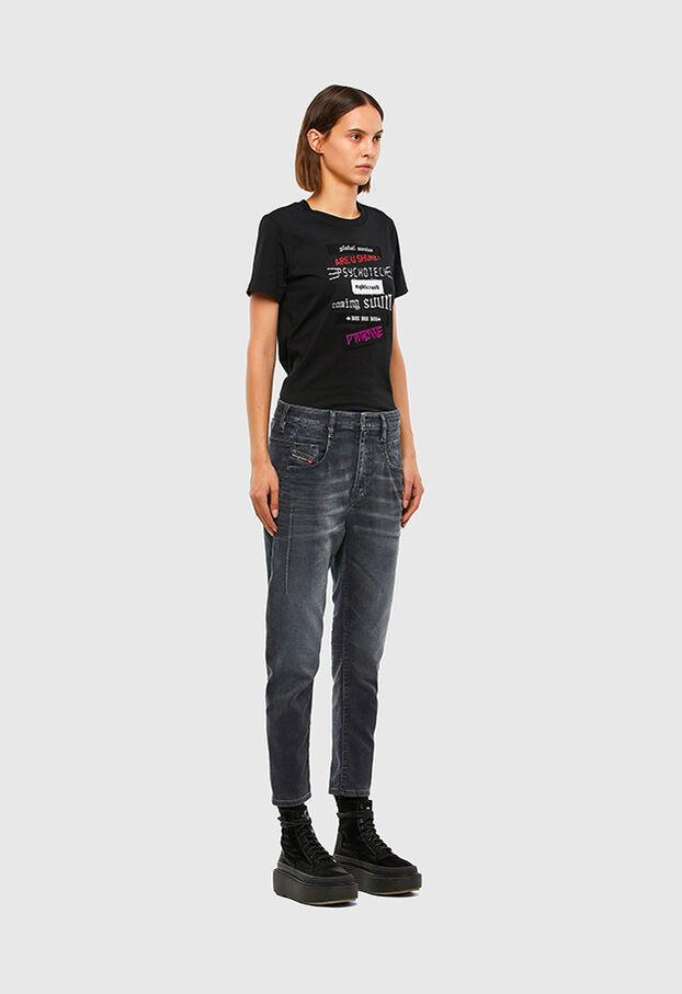 FAYZA JoggJeans® 069QA, Black/Dark grey - Jeans