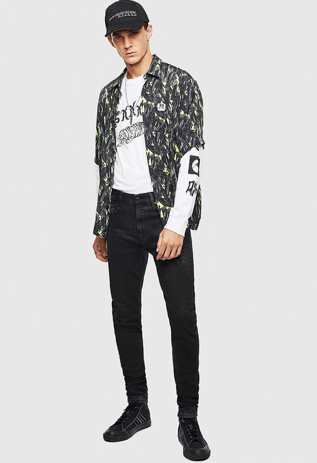 D-Amny 009CE, Black/Dark grey - Jeans