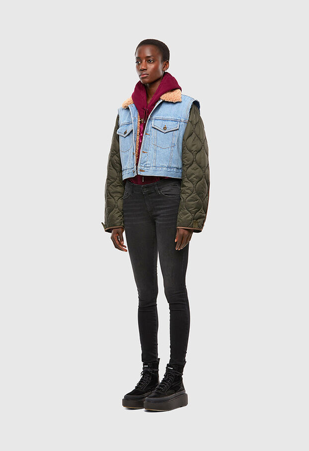 W-SHAYL, Military Green - Winter Jackets