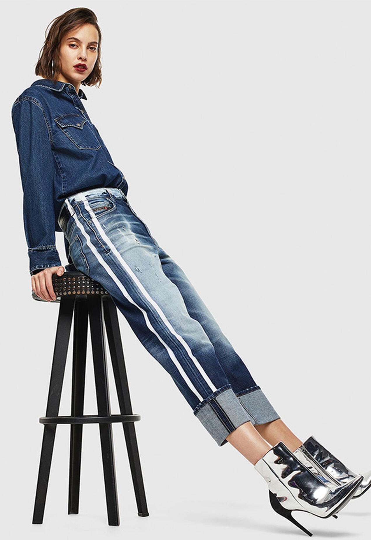 D-Reggy 0096S, Medium blue - Jeans