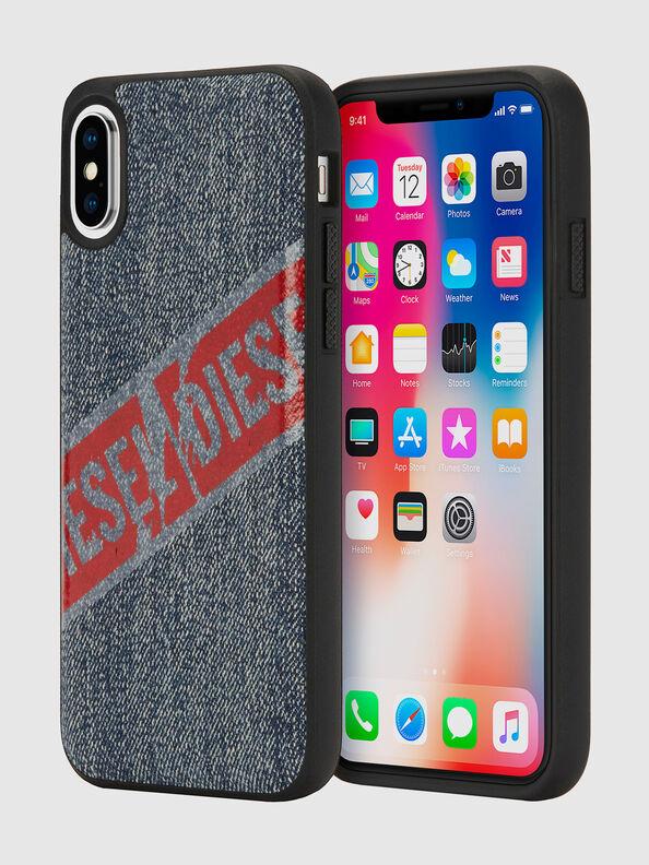 VINTAGE DENIM IPHONE X CASE,  - Cases
