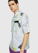 S-FRY-FLOW, Blue/Grey - Shirts