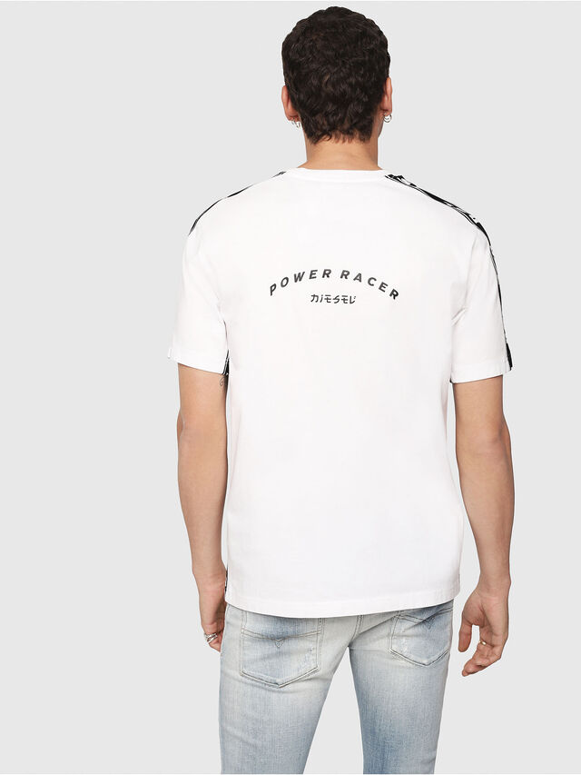 Diesel - T-JUST-RACE, White/Black - T-Shirts - Image 2