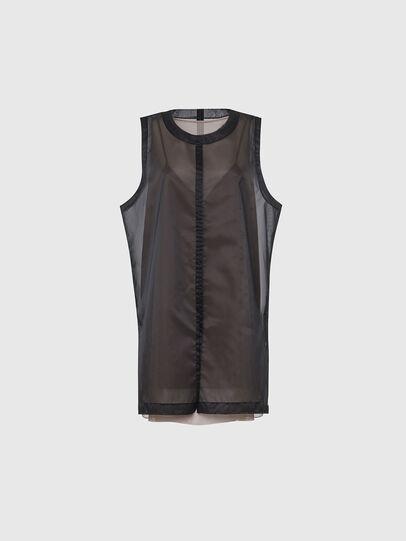 Diesel - D-LAY, Black - Dresses - Image 1
