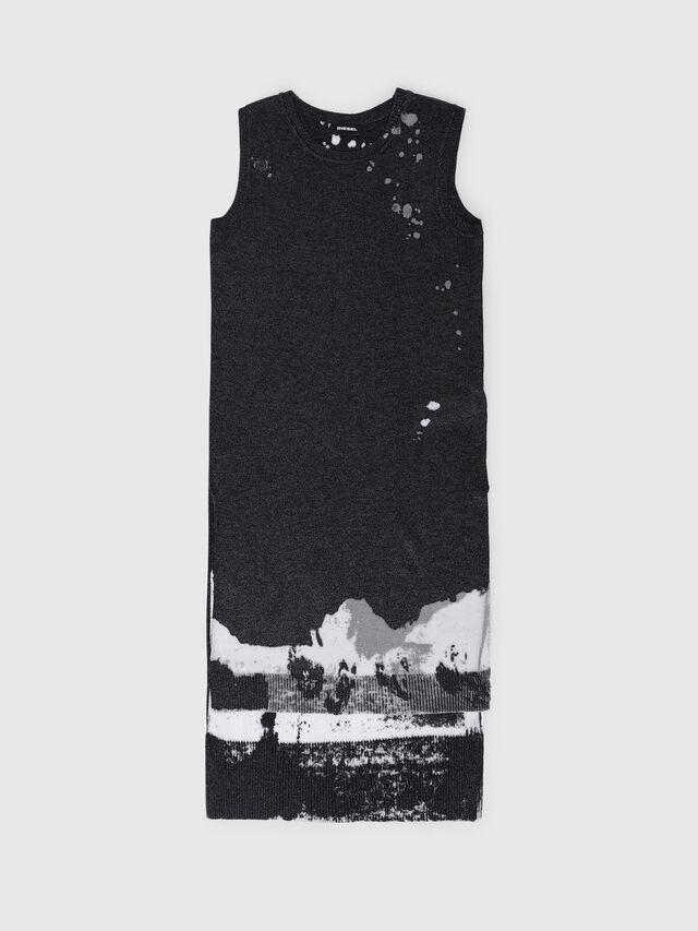 Diesel - DMLUKY, Black/White - Dresses - Image 1