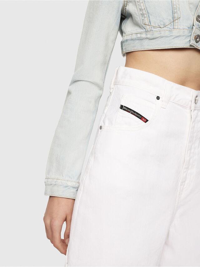 Diesel - D-Luite 069EE, White - Jeans - Image 3