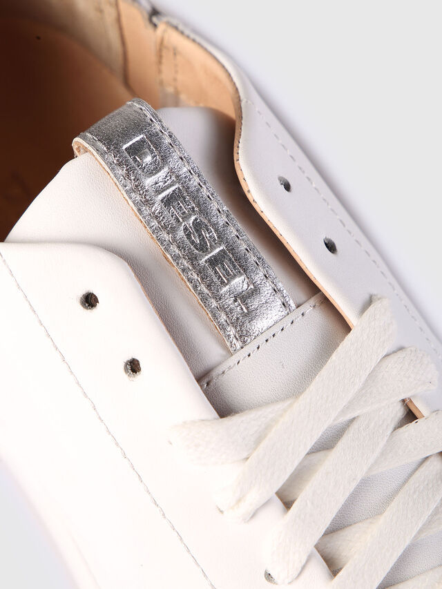 Diesel - S-NENTISH LC W, White - Sneakers - Image 4