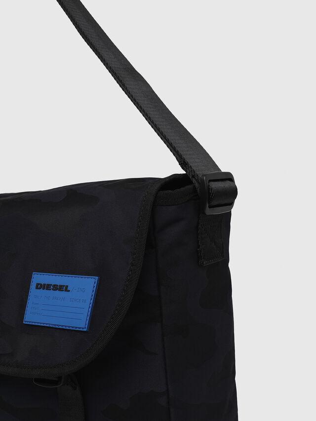 Diesel - F-DISCOVER MESSENGER, Dark Blue - Crossbody Bags - Image 3