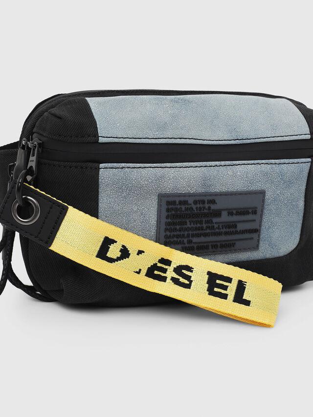 Diesel - L-TOLLE BELTBAG, Blue - Belt bags - Image 4