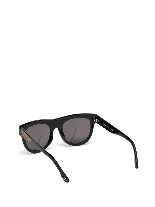 Diesel DM0160, Black/Orange - Eyewear - Image 2