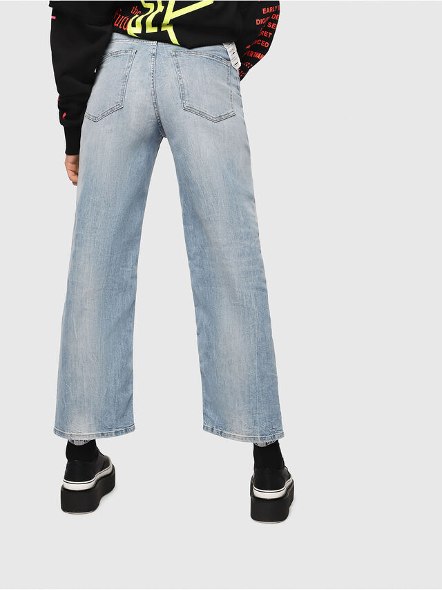 Diesel - Widee 081AL, Light Blue - Jeans - Image 2