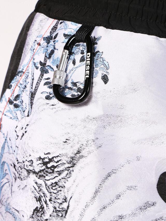 Diesel P-GROUND, White - Shorts - Image 5