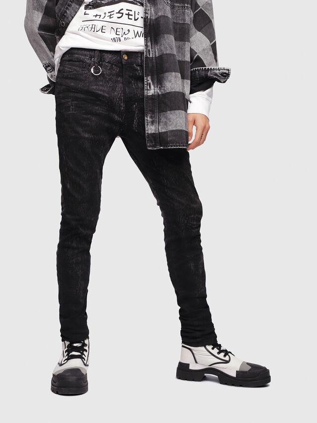 Diesel - D-Istort 069DE, Black/Dark grey - Jeans - Image 1