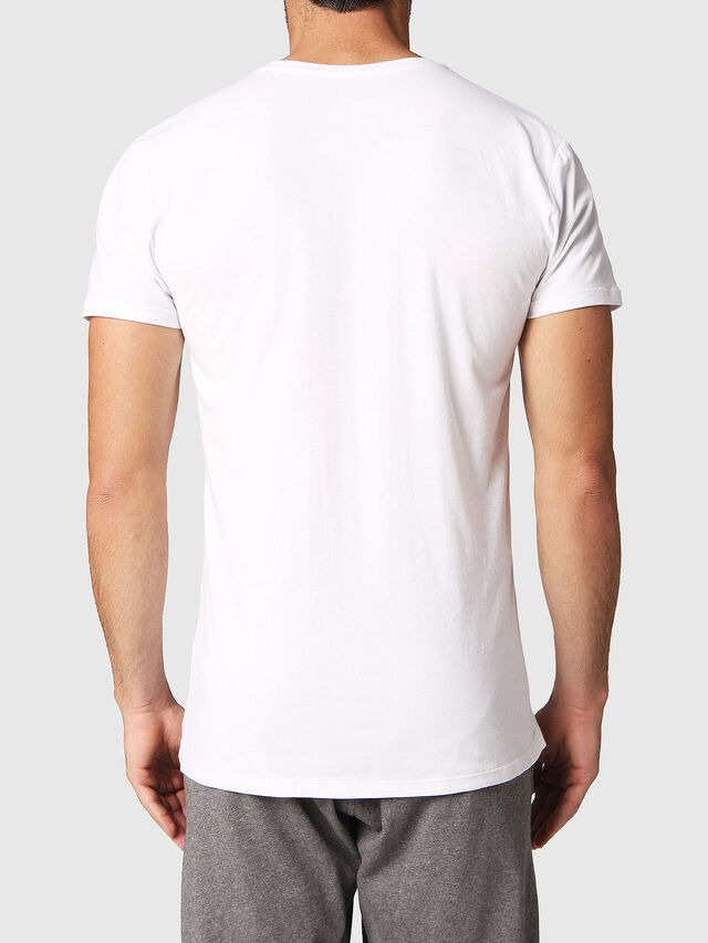 Diesel - UMTEE-MICHAEL2PACK, White - Tops - Image 3