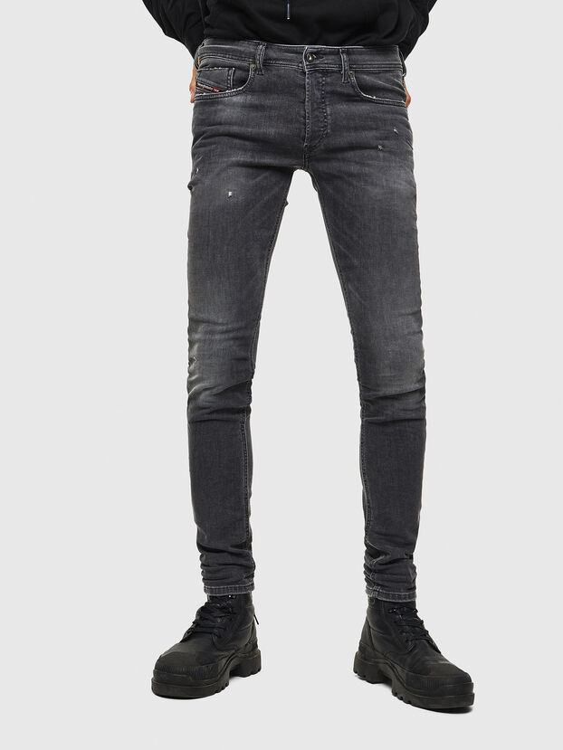 Sleenker 069JR, Black/Dark grey - Jeans
