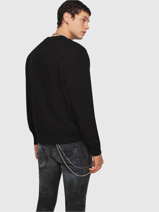 Diesel - CL-SNOR, Black - Sweaters - Image 3