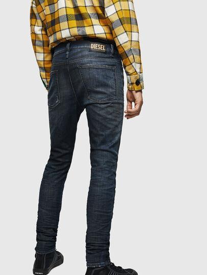 Diesel - D-Reeft JoggJeans 0870Y, Dark Blue - Jeans - Image 2