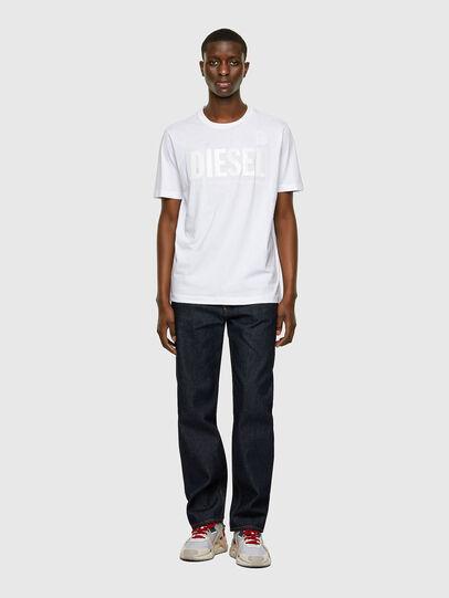Diesel - T-JUST-INLOGO, White - T-Shirts - Image 4