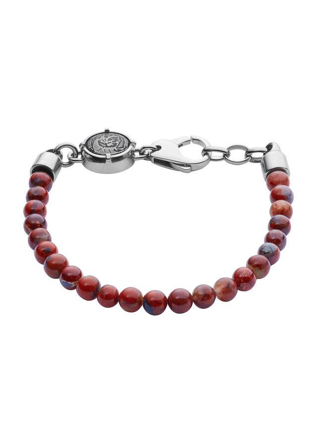 Diesel BRACELET DX1042, Red - Bracelets - Image 1