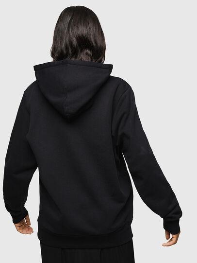 Diesel - F-GIR-HOOD-DIV-LOGO-, Black - Sweaters - Image 2