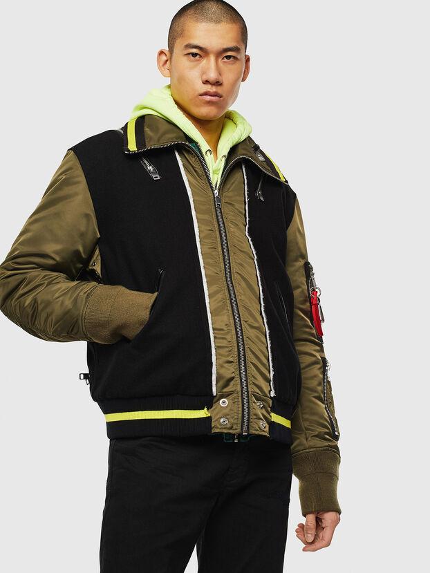 W-SHARYN, Black/Green - Winter Jackets
