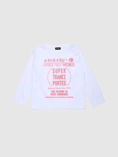 Diesel - TJACKYH ML, White - T-shirts and Tops - Image 1