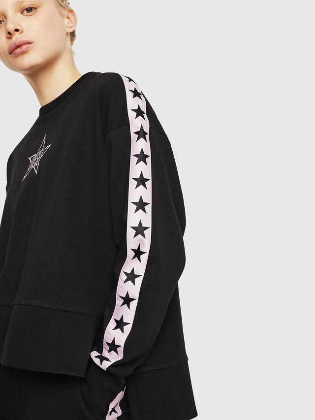 Diesel - UFLT-LYRIA, Black/Pink - Sweaters - Image 4