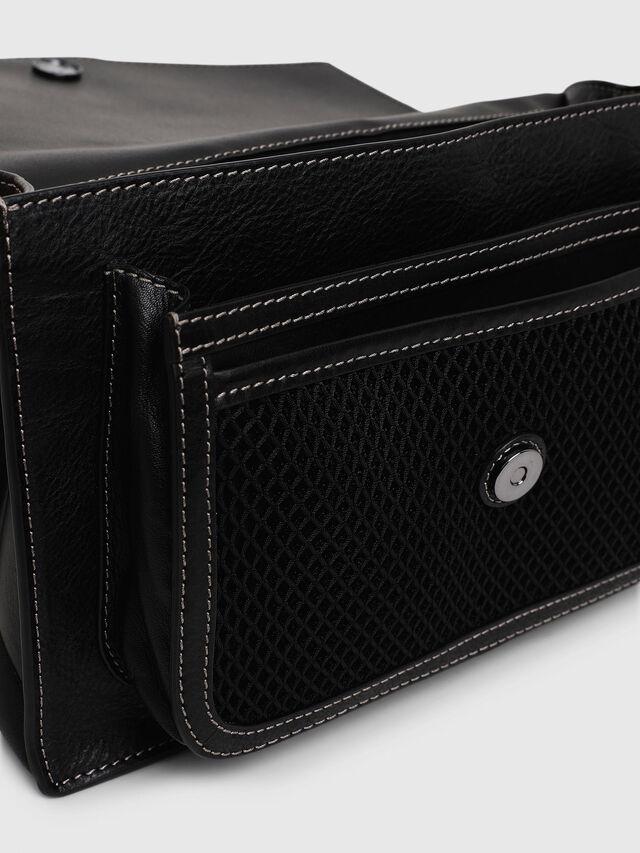 Diesel - MISS-MATCH CROSSBODY, Black/Grey - Crossbody Bags - Image 5