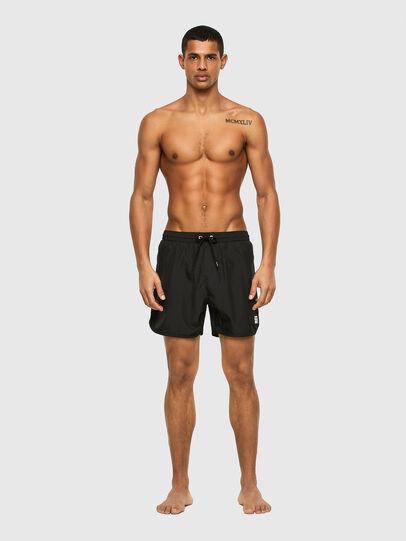 Diesel - BMBX-REEF-40-X, Black - Swim shorts - Image 1