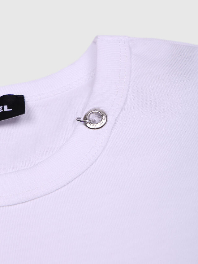 Diesel - TOCLE, White - T-shirts and Tops - Image 3