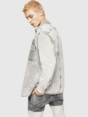 D-MILOV, Grey - Denim Shirts