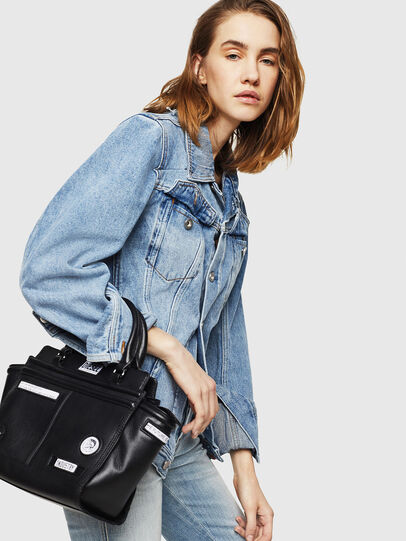 Diesel - LE-ZIPPER SATCHEL S,  - Shopping and Shoulder Bags - Image 5