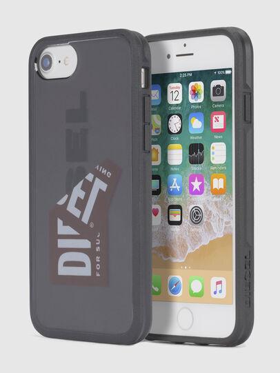 Diesel - STICKER IPHONE 8 PLUS/7 PLUS/6s PLUS/6 PLUS CASE, Black - Cases - Image 1