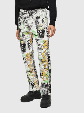 D-Macs 069KS, White - Jeans