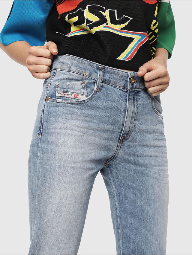 Diesel - D-Rifty 081AL, Light Blue - Jeans - Image 3