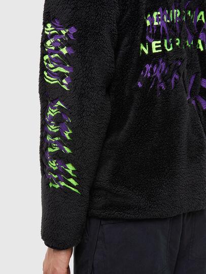 Diesel - S-FURIOUS, Black - Sweaters - Image 4