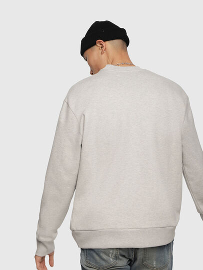 Diesel - S-CREW-DIVISION, Light Grey - Sweaters - Image 2