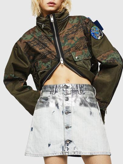 Diesel - DE-JODY-R, Light Blue - Skirts - Image 1