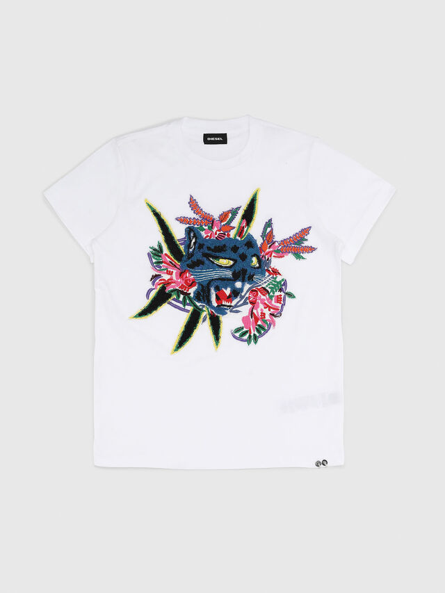 Diesel - TDIEGOFLX, White - T-shirts and Tops - Image 1