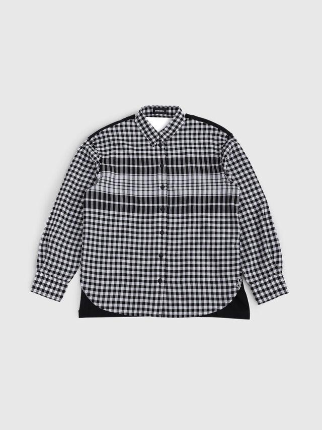Diesel - CTRUDIX, Black/White - Shirts - Image 1