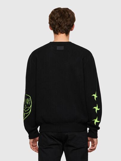 Diesel - K-ONTARIO, Black - Knitwear - Image 2