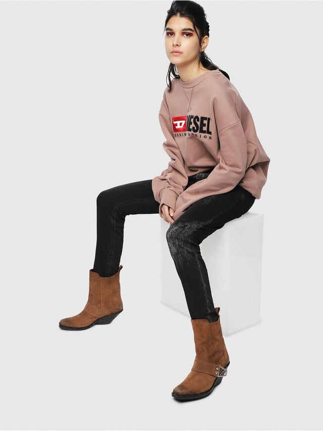 Diesel - Krailey JoggJeans 069DT, Black/Dark grey - Jeans - Image 4