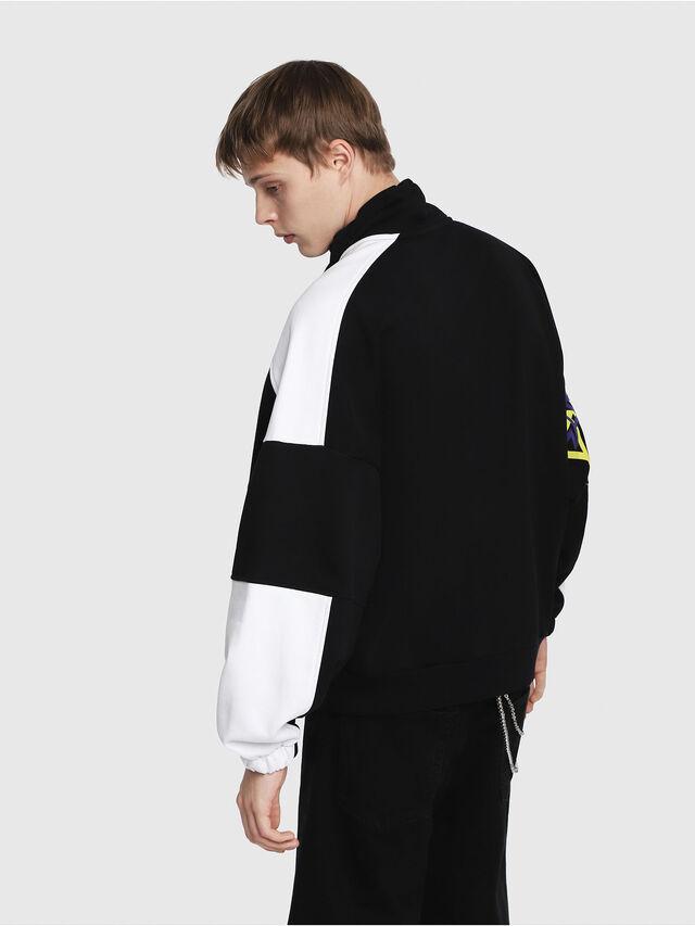 Diesel - S-YOSHIMO, Black/White - Sweaters - Image 2