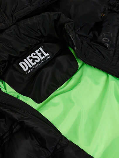 Diesel - W-RUSSELL-LONG, Black - Winter Jackets - Image 8