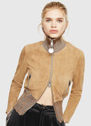 L-LYS-A, Camel - Leather jackets