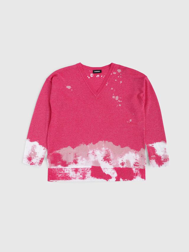 Diesel - KMSPOTS, Pink - Knitwear - Image 1