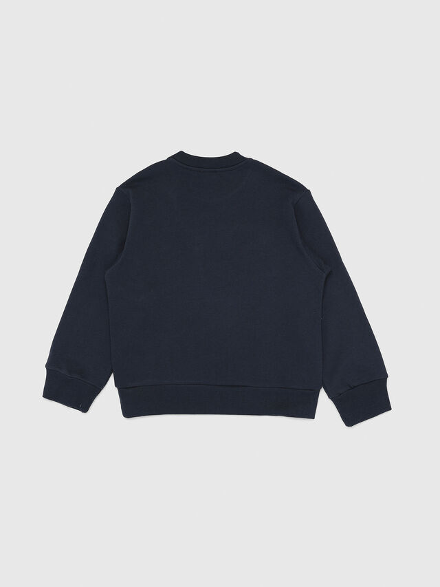 Diesel - SCREWDIVISION OVER, Navy Blue - Sweaters - Image 2