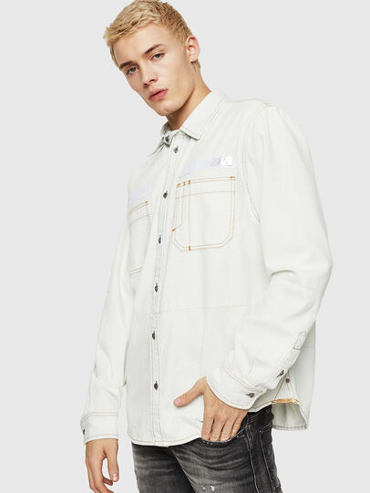 Diesel - D-FRED,  - Denim Shirts - Image 1